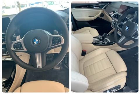 BMW X4 M40iのインテリア