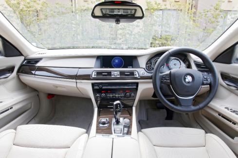 BMW車のインテリア