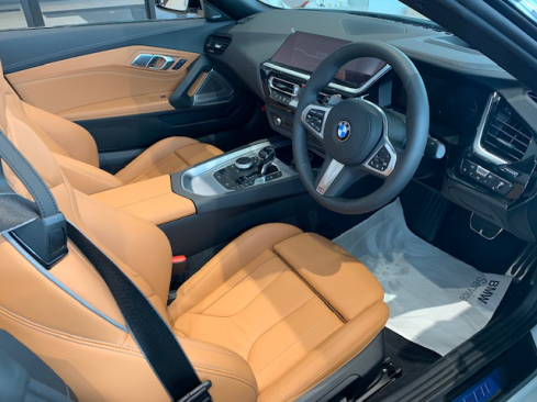 BMW Z4 M40iのインテリア