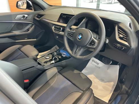 BMW 118d M Sportのインテリア