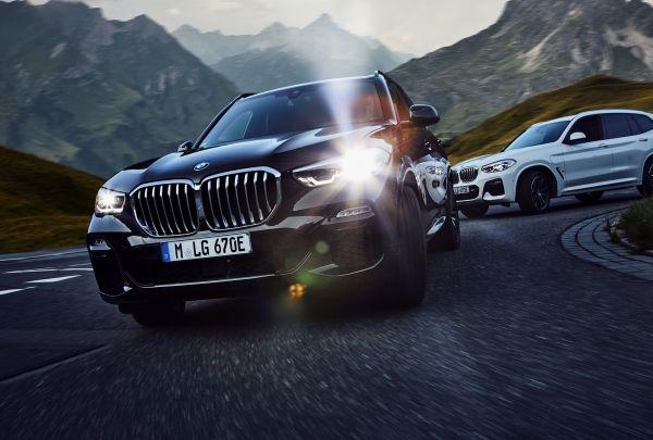 BMW X3とX5の比較