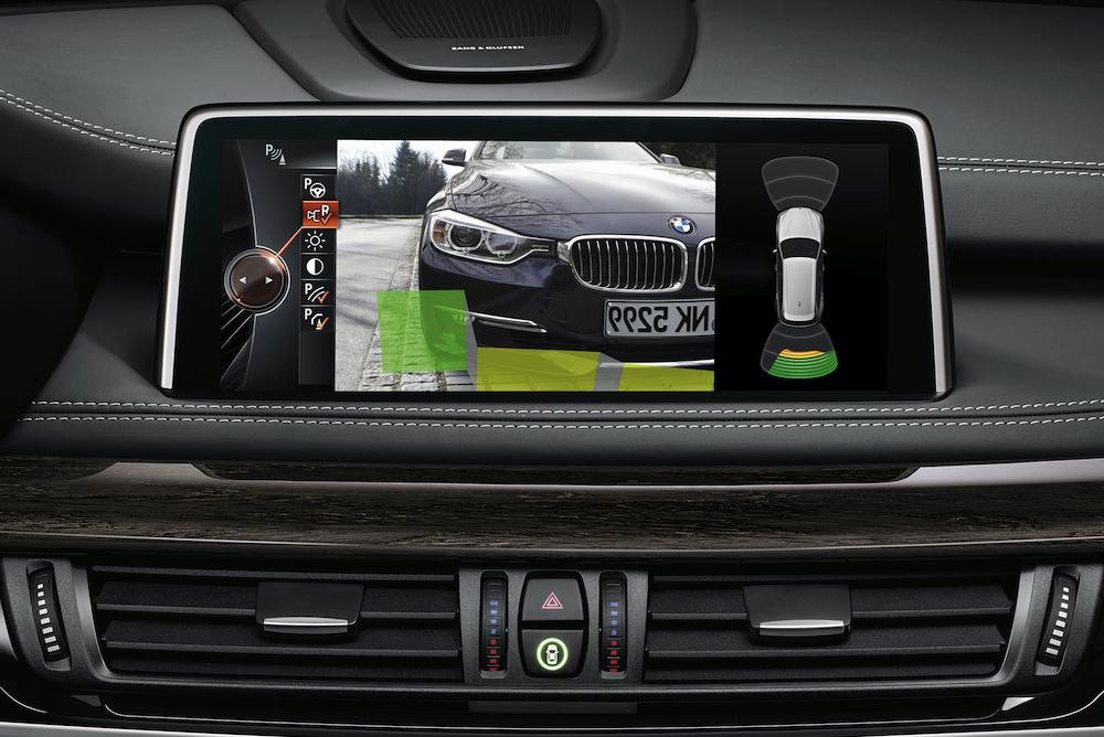 BMWのアシスト画面