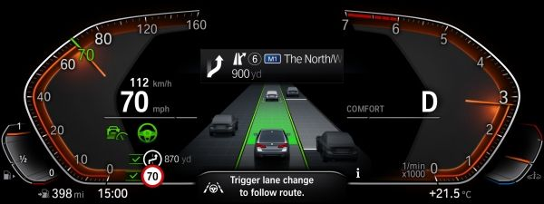 BMWのアクティブ・クルーズ・コントロール