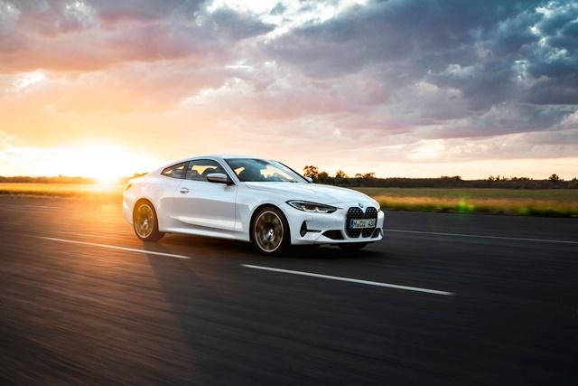 BMW 430i Coupé Mineral white metallic
