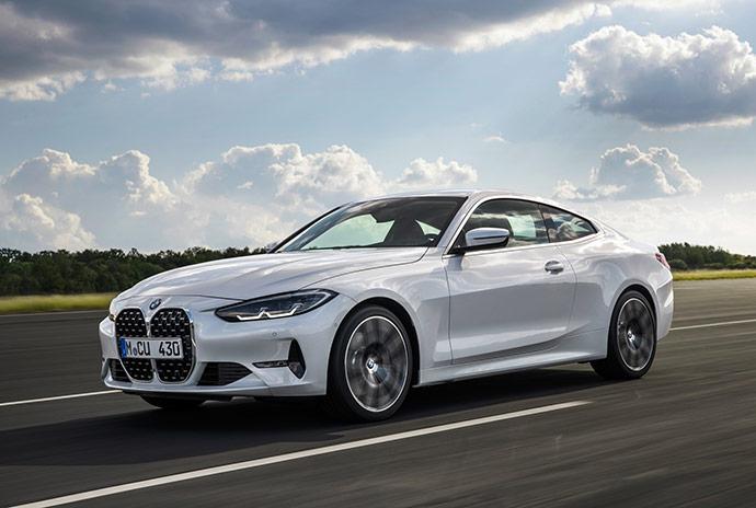 新型BMW 4シリーズ