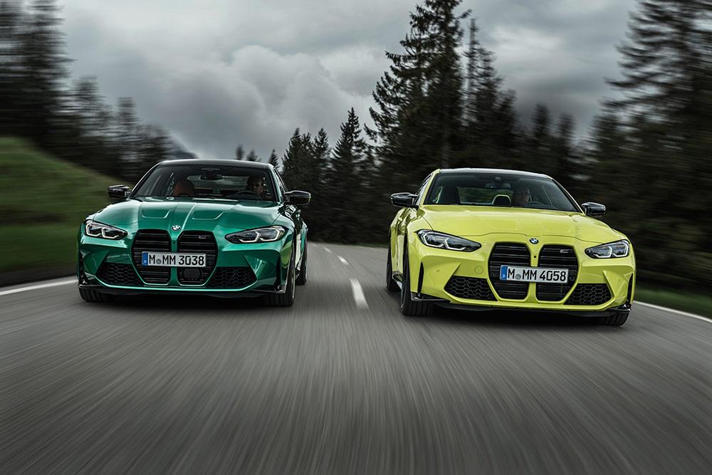 The new BMW M3 Sedan