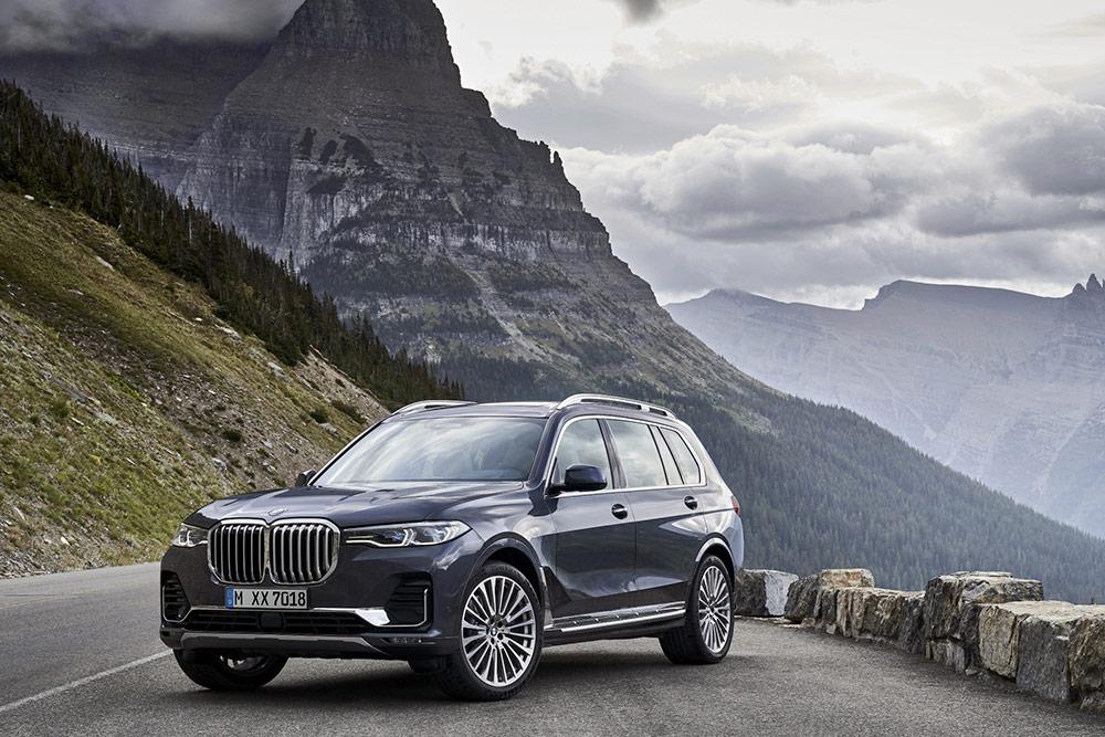 BMWの新しいラインアップ新型BMW X7