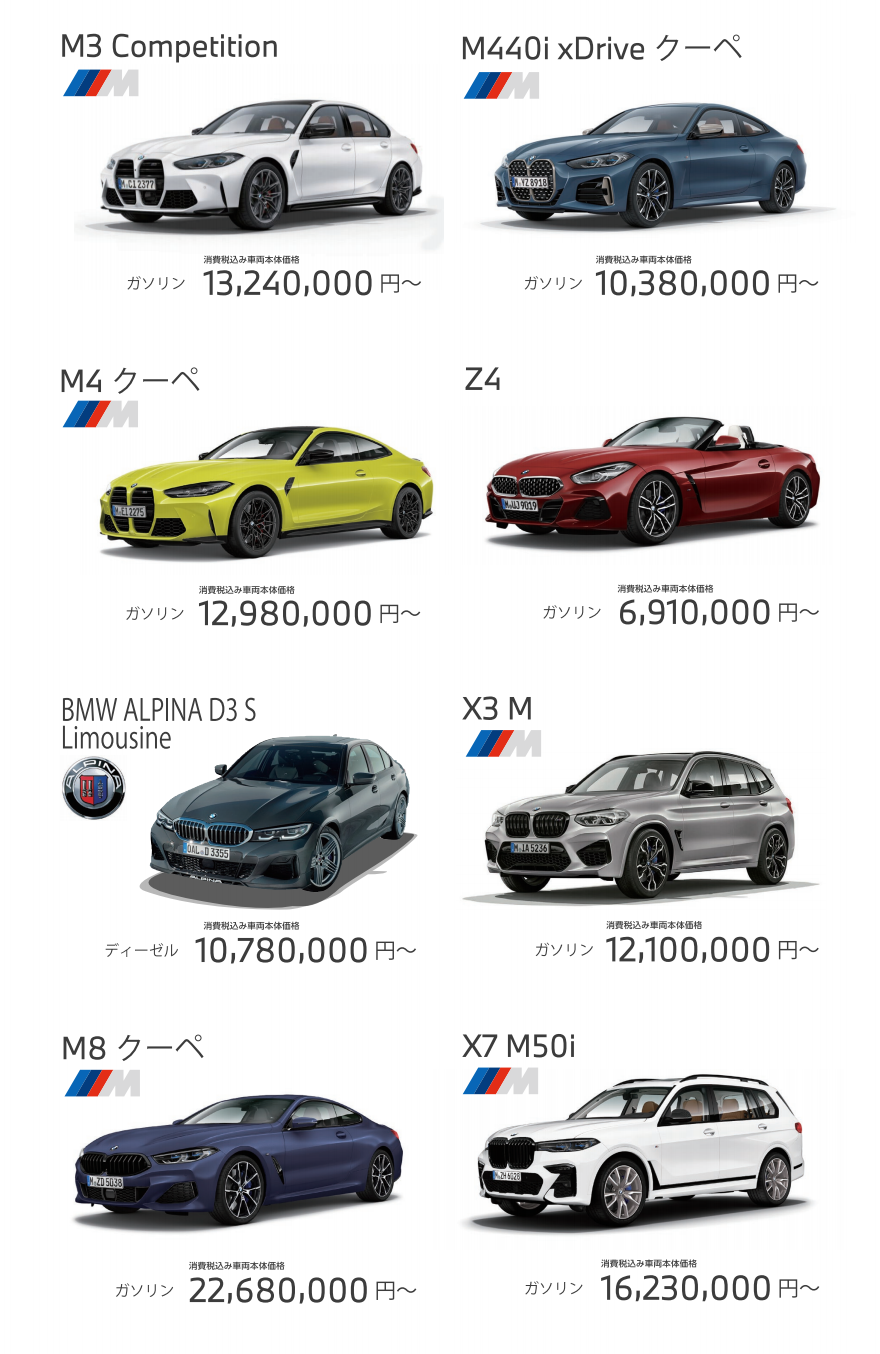 Yanase BMW Fukuokaltazuke Renewal Opening Fairの試乗車