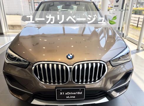 BMW X1 xDrive18d xLineのフロント