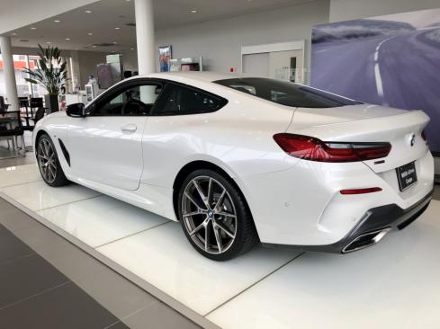 BMW M850i xDrive Coupeの後ろ