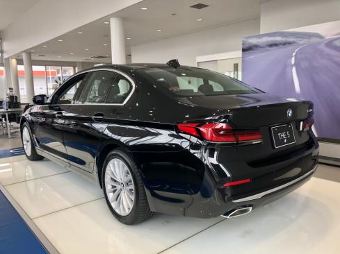 BMW 530e iPerformance Luxury Edition Joy+の後ろ
