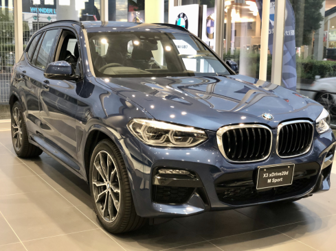 BMW X3 xDrive20d M Sportのフロント