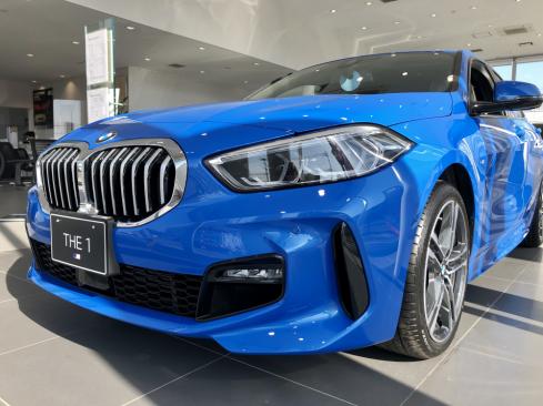 BMW 118d M Sportのフロント