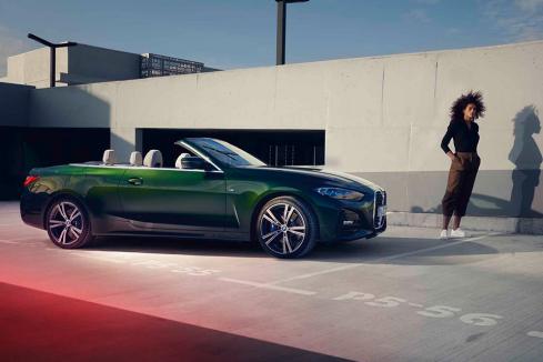 新型BMW 4シリーズ カブリオレの横