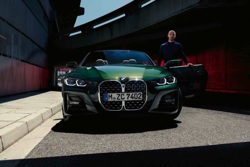 新型BMW 4シリーズ カブリオレ