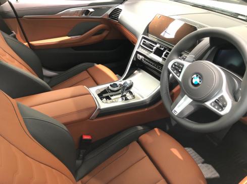 BMW 840i Gran Coupe M Sportのインテリア