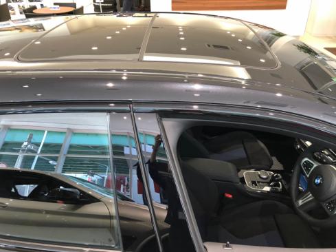 BMW 118i M Sportのサンルーフ