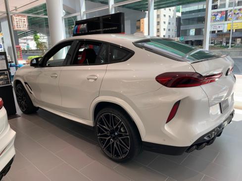 BMW X6Mの横