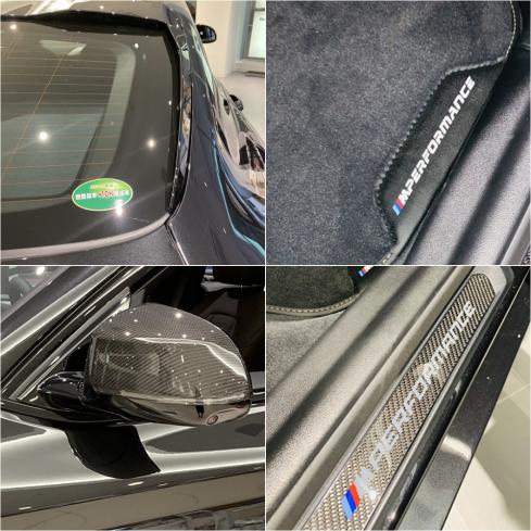 BMW X4 xDrive20d M Sportの特別装備