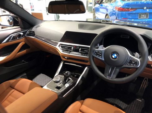 BMW 420i Coupe M Sportのインテリア