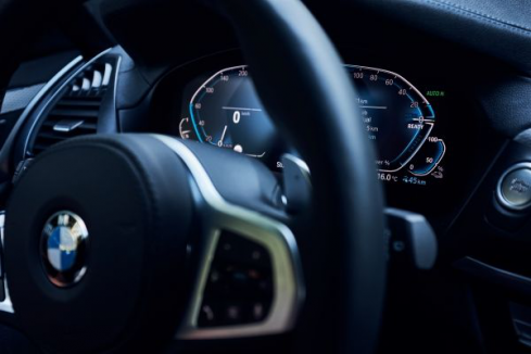 BMW X3 xDrive30eのインテリア