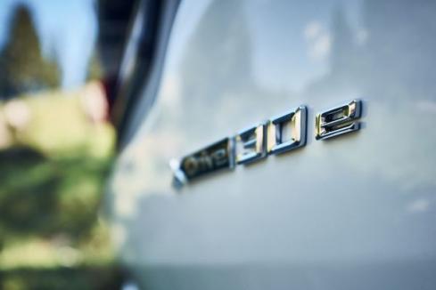 BMW X3 xDrive30eのロゴ