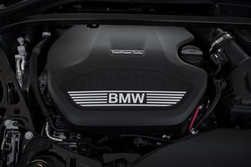 BMW 218d グラン クーペのエンジン