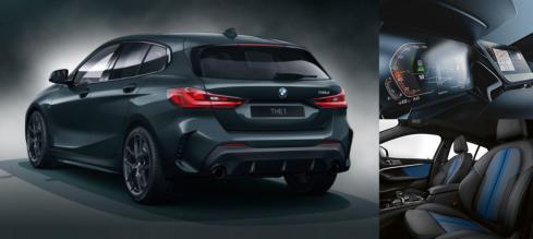 BMW 118d M Sport Edgeの後ろ