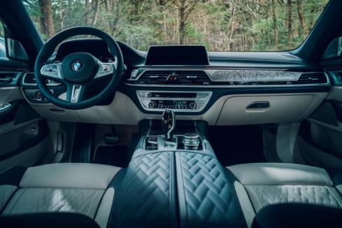 BMW 7シリーズ ピュア・メタル・エディションのインテリア