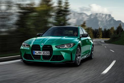 新型BMW M3 competition