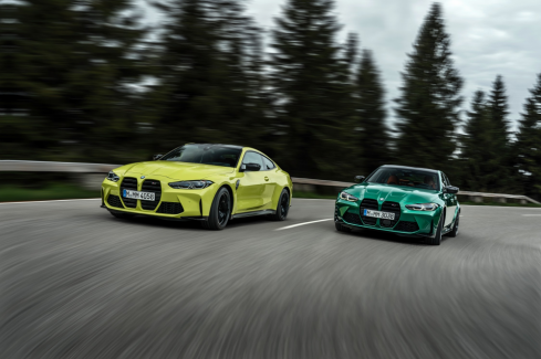 新型BMW M3および新型BMW M4