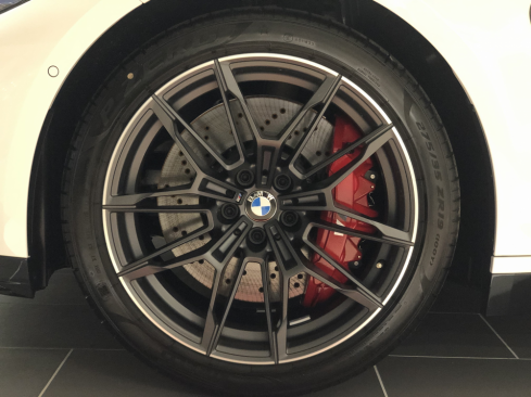 BMW M4 クーペ Competitionのホイール