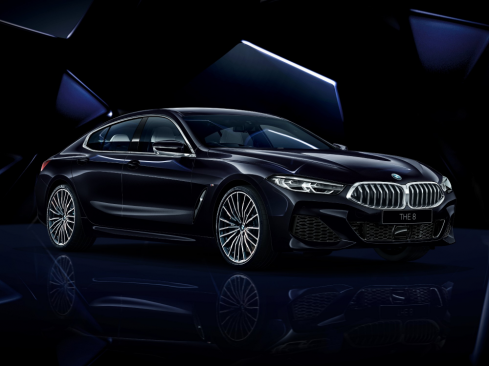 BMW 8 Series Gran Coupe Collector's Edition ブラック