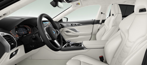 BMW 8 Series Gran Coupe Collector's Edition 内装