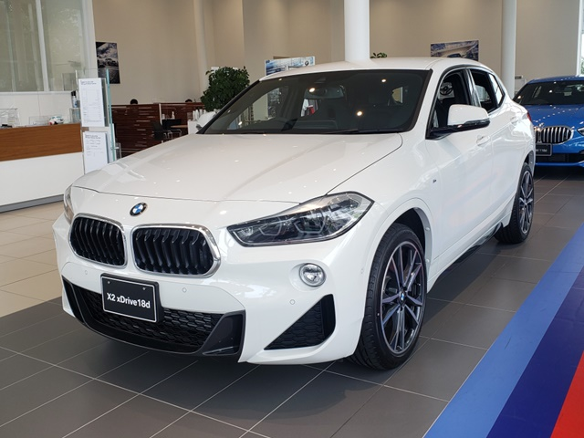 BMW X2 xDrive18d M Sport Edition Sunrise