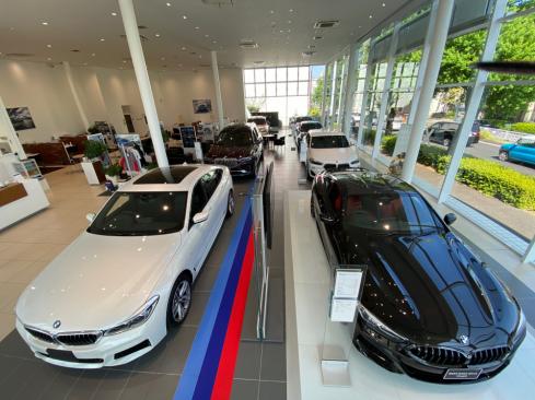 BMW天白支店の展示車