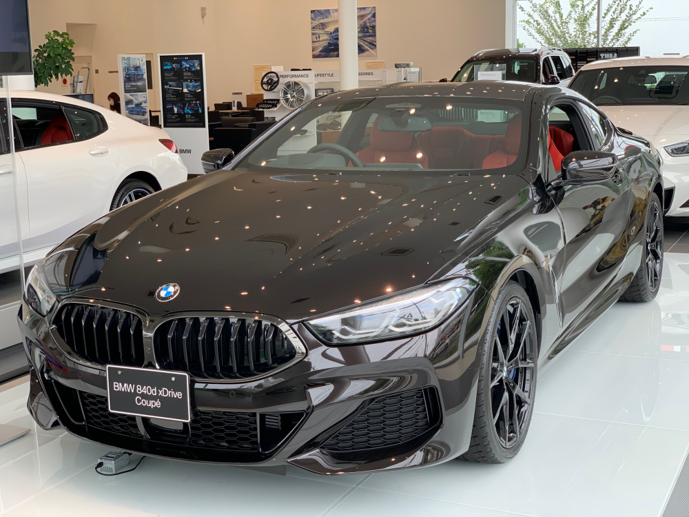 BMW 840d xDrive Coupe M Sport