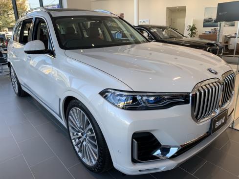 BMWの展示車