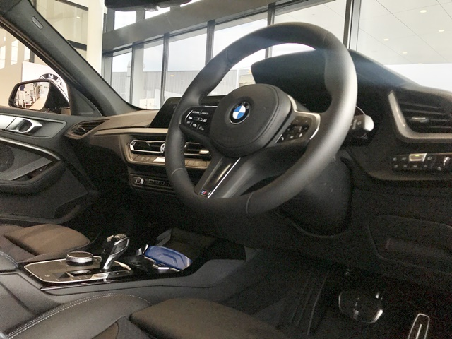 BMW 118i M Sportのインテリア