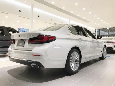 BMW 530e Luxury Edition Joy+の後ろ