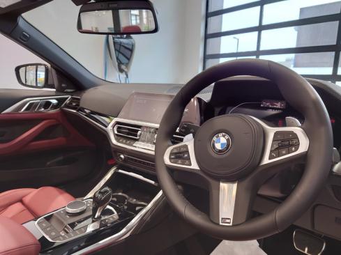 BMW M440i xDrive カブリオレ コックピット