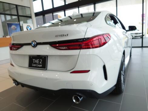 BMW 218d グランクーペ M Sport Edition Joy+ 後ろ